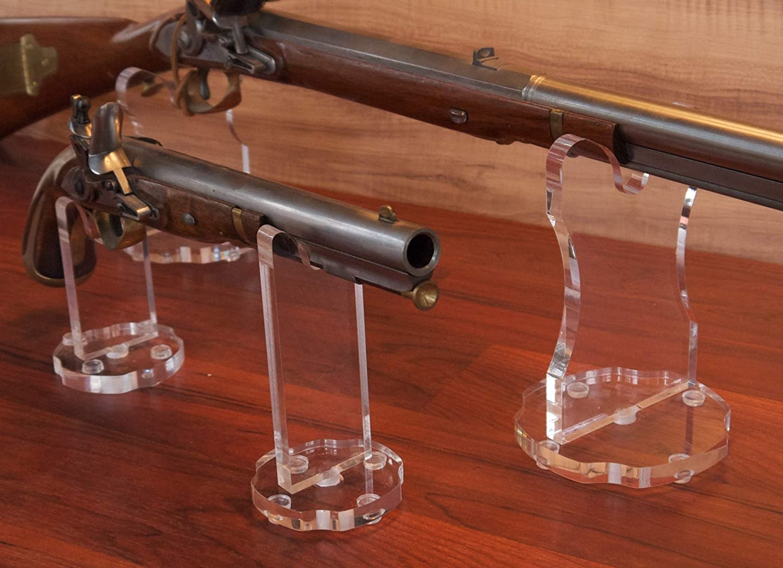 Acrylic Pistol Stand USA Made Free Shipping!