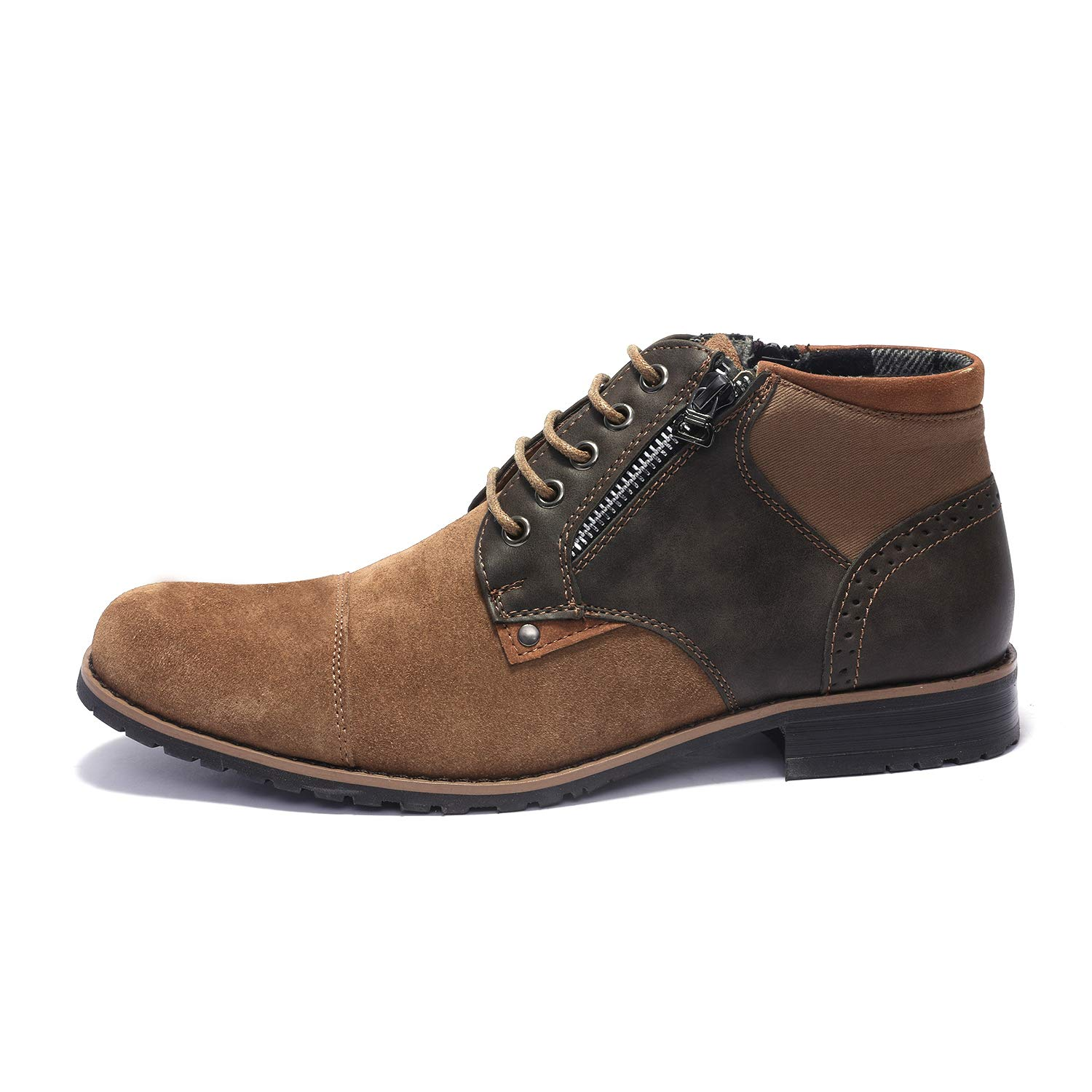 Bruno Marc Mens Adam/_H Suede Leather Classic Oxford Chukka Ankle Boots