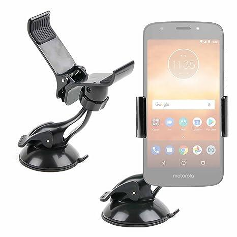 DURAGADGET Soporte Tipo Pinza para Smartphone Motorola Moto E5 / Motorola Moto E5 Play/Motorola Moto E5 Plus: Amazon.es: Electrónica