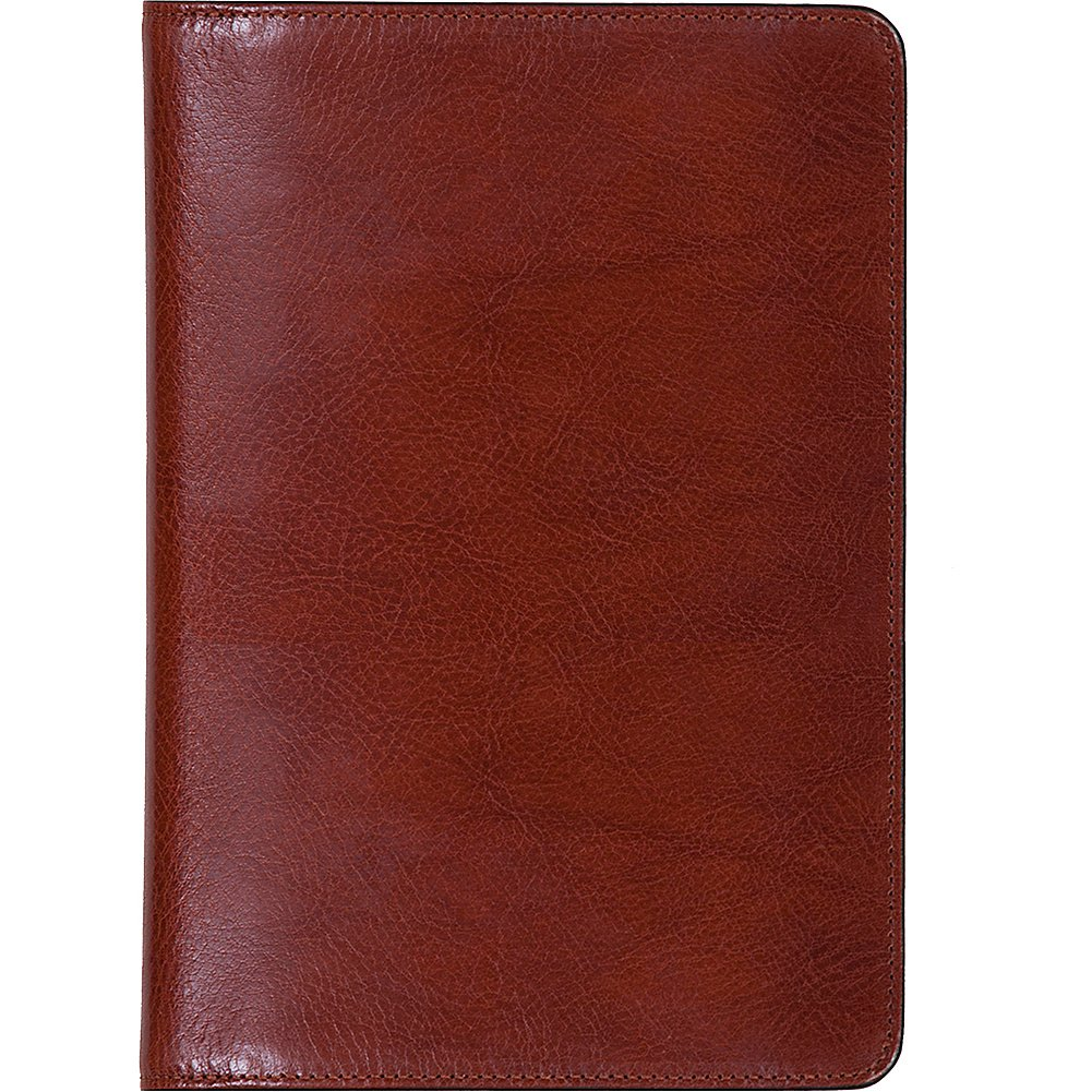 Scully Italian Leather Desk Size Weekly Planner (Cognac)