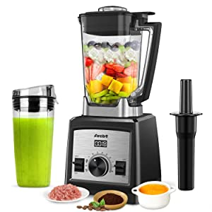Arcbt Professional Countertop Blender for Smoothies