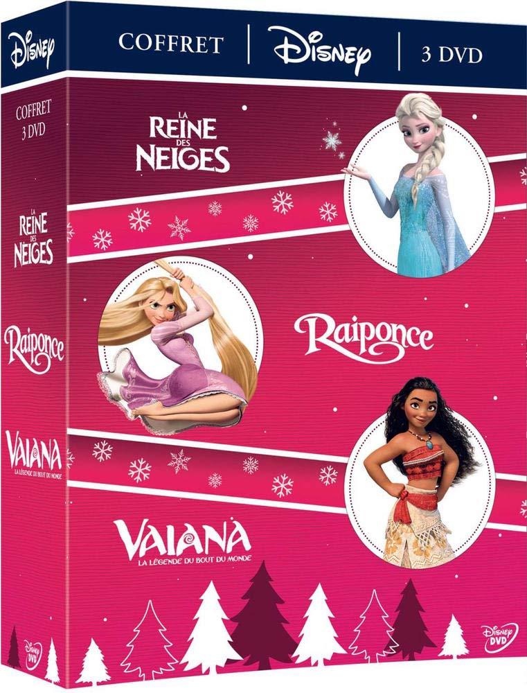Vaiana, la légende du bout du monde + Raiponce + La Reine ...