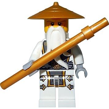 lego ninjago master wu sensei wu amazon co uk toys games