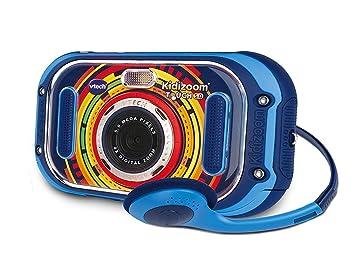 Amazon.es: VTech Kidizoom Touch 5.0 Cámara de fotos digital infantil color azul versión española (80-163522)