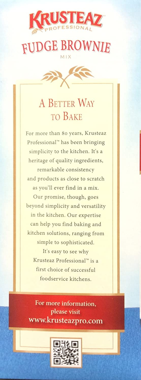 Amazon.com : Krusteaz FUDGE BROWNIE Mix 7lb. (4 Pack) : Grocery & Gourmet Food