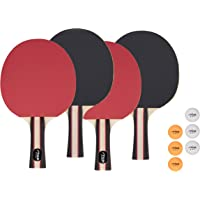 STIGA Performance Table Tennis Set (4 Player Set), Red/Black, Model:T1365