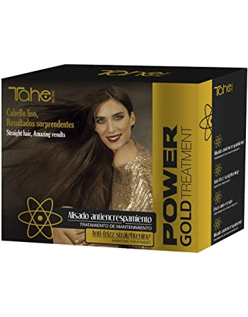 Tahe Power Gold Pack Mantenimiento 4 Productos Incluye Champú Cleansing Total 10 ml, Champú Keratin