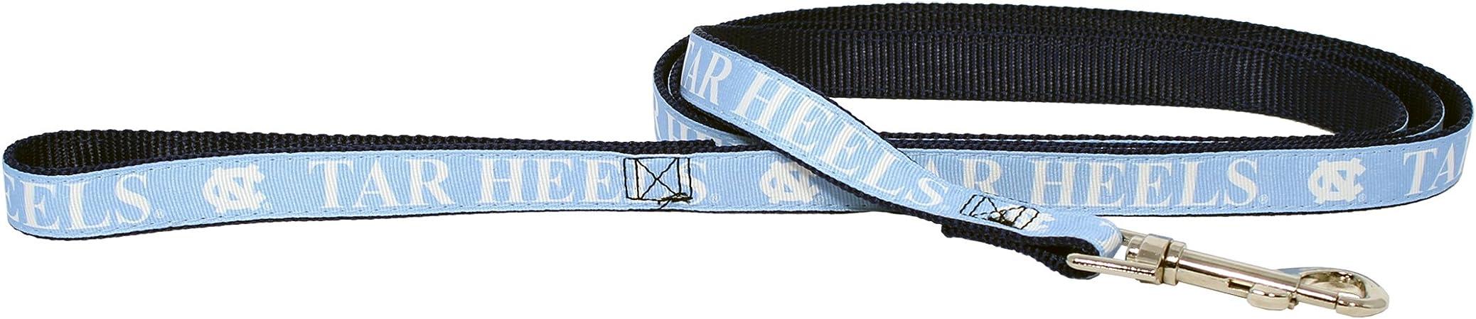 Htr Mfg North Carolina Tar Heels Dog Pet Premium 6ft Nylon Leash Lead Licensed Medium