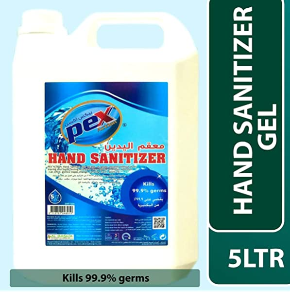 Swish Hand Sanitizer Gel 5 Ltr Amazon Ae