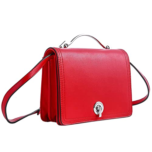 71221c85c Betiteto Designer Crossbody Bags PU Leather Mini Street Shoulder Handbags  Purse for Women Girls (Red): Amazon.ca: Shoes & Handbags