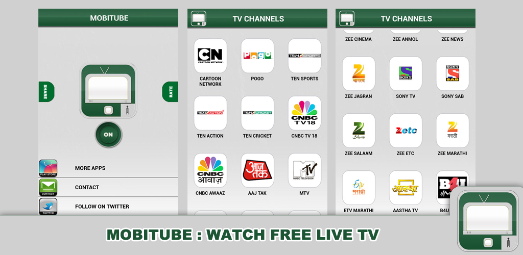 MobiTube : Watch Free Live Tv