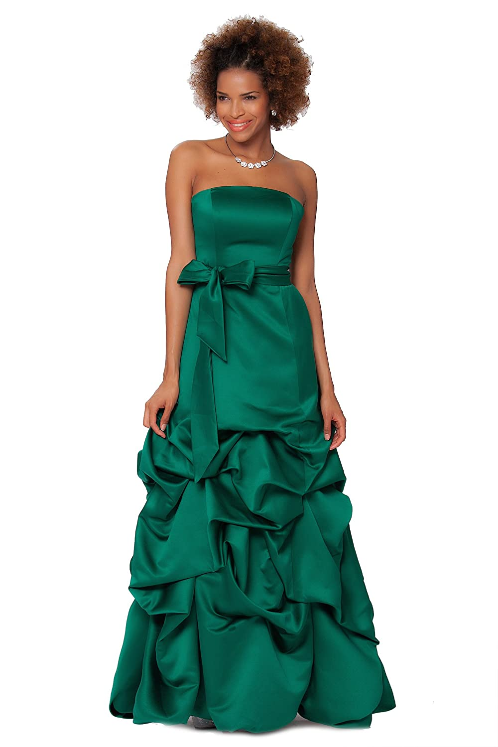 SEXYHER Gorgeous Full Length Strapless Bridesmaids Formal Evening Dress - EDJ1583