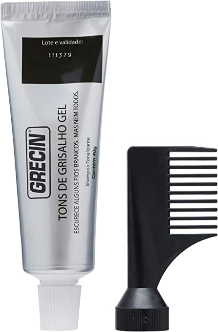 Shampoo Tonalizante Tons Grisalhos Gel 40g, Grecin