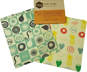Honeywrap Beeswax Food Wrap | 2 pack/small (7