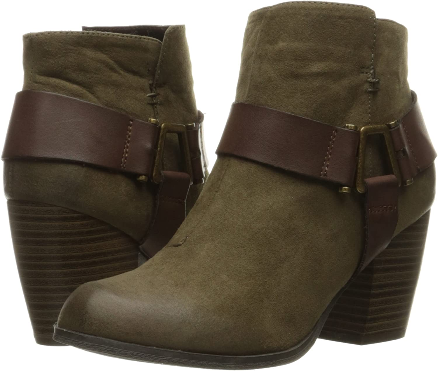 Qupid Womens Maze-112 Ankle Bootie