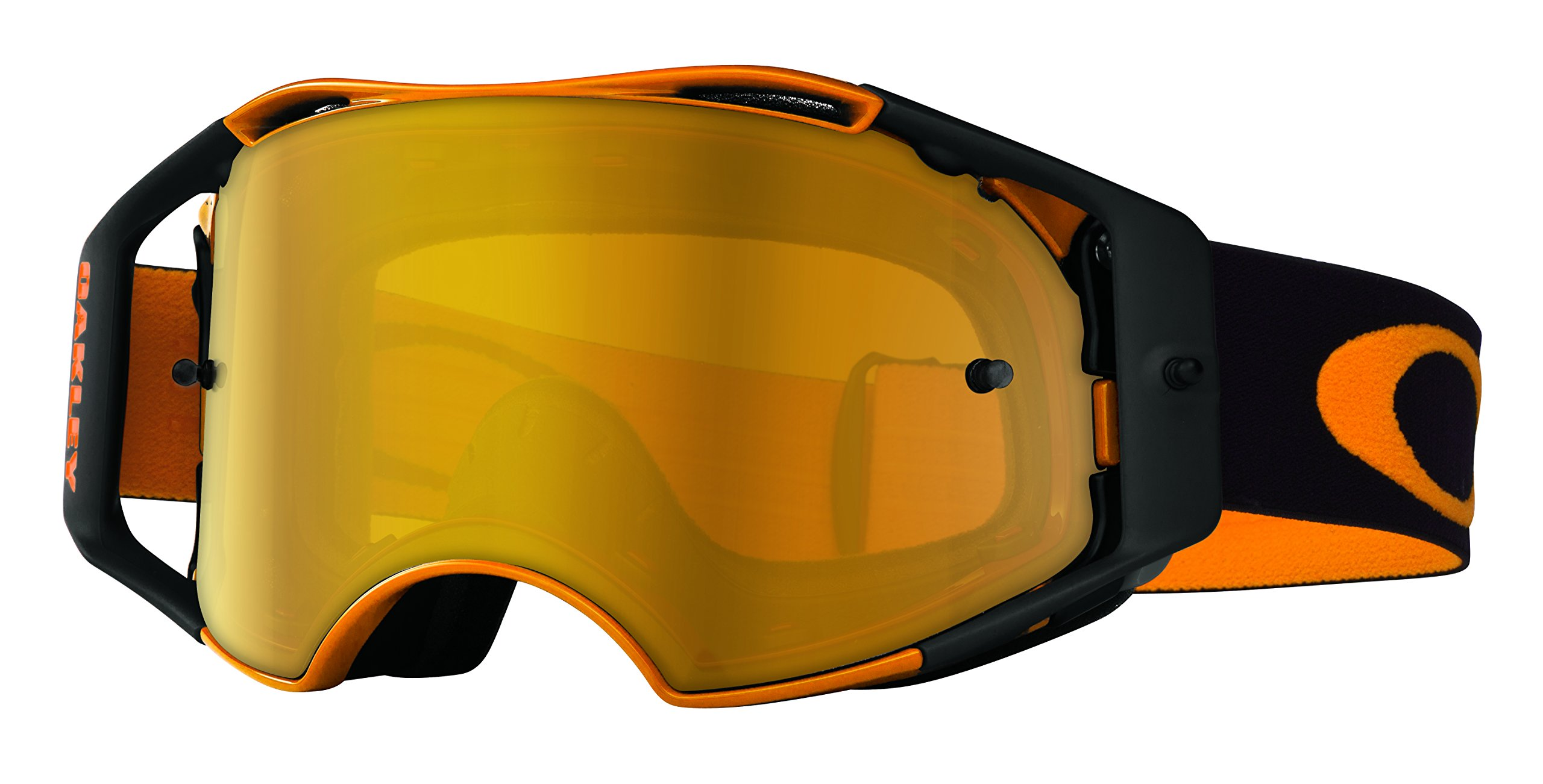 Oakley Airbrake MX Herlings Signature Series Goggles (Orange Frame/Fire Iridium Lens)