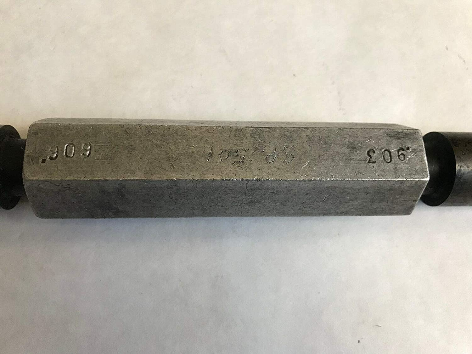 THE PIPE MACHINERY PLUG INSPECTION GAGE SP-501 GO .903 NO GO .909,ET