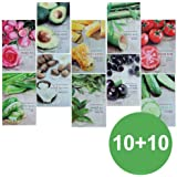 Nature Republic Real Nature Mask Sheet 10+10 (total 20pcs)