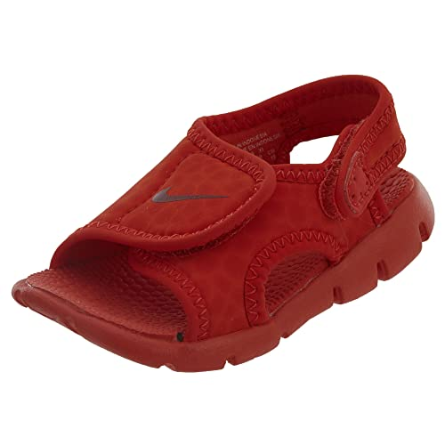 58783e30a34b1 Nike 386519-603: Kids Sunray Adjust 4 Habanero Red/Gym Red Toddler Sneakers
