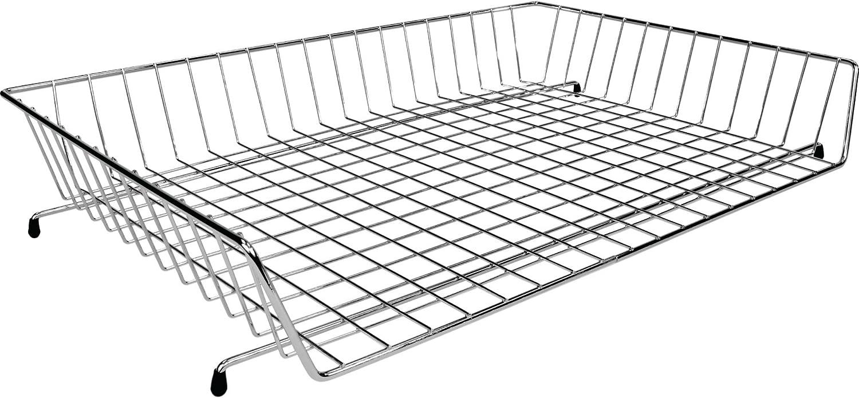 11x17 Wire Basket Desk Tray, Chrome