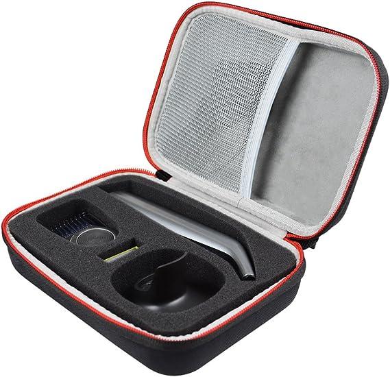 Duro Estuche Viajes Funda Bolso para Philips OneBlade Pro QP6520 ...