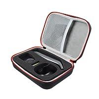 Duro Estuche Viajes Funda Bolso para Philips OneBlade Pro QP6520/30 QP6510/30 QP6510/60 - Recortador de barba by AONKE