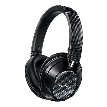 Philips SHB9850NC/27 - Auriculares (Inalámbrico y alámbrico, Diadema, Binaural, Circumaural, 8-23500 Hz, Negro): Amazon.es: Electrónica