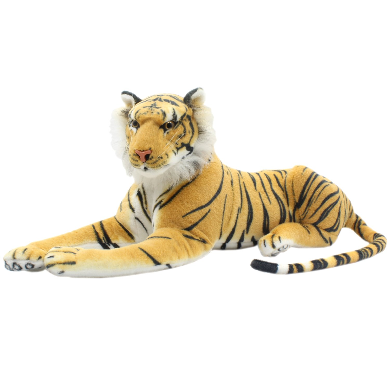 Amazon Com Tagln Large Stuffed Animals Tiger Toys Plush Big Brown