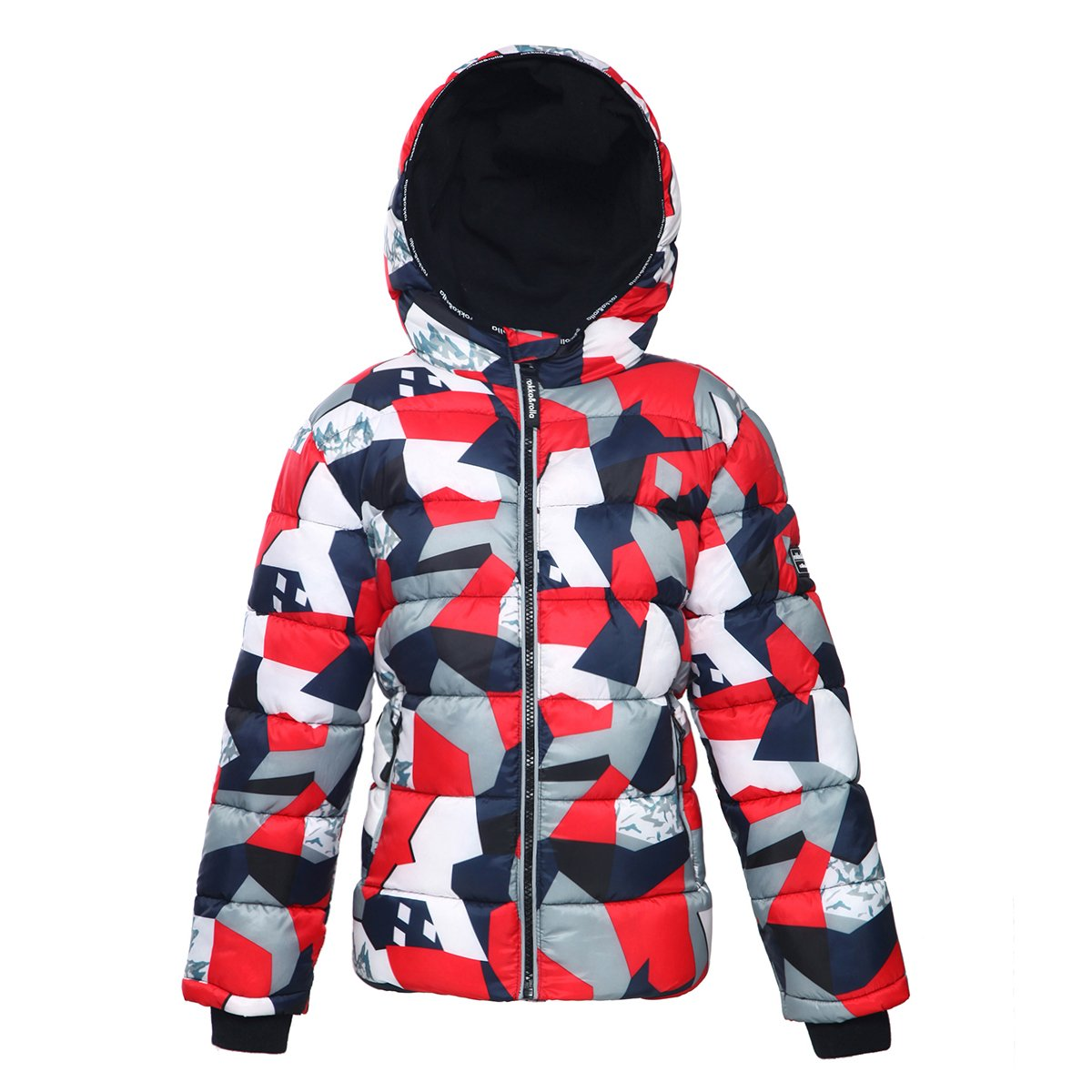Rokka&Rolla Boys' Heavy Padded Water-Resistant Hooded Thickened Quilted Puffer Jacket
