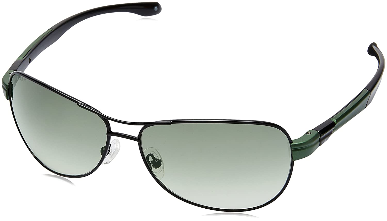 Titan Gradient Aviator Men's Sunglasses - (G197CTML9E|62|Green Color)