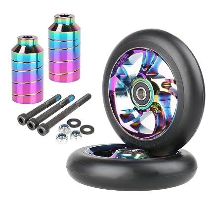 Amazon.com: Kutrick - 2 ruedas de repuesto para patinete ...