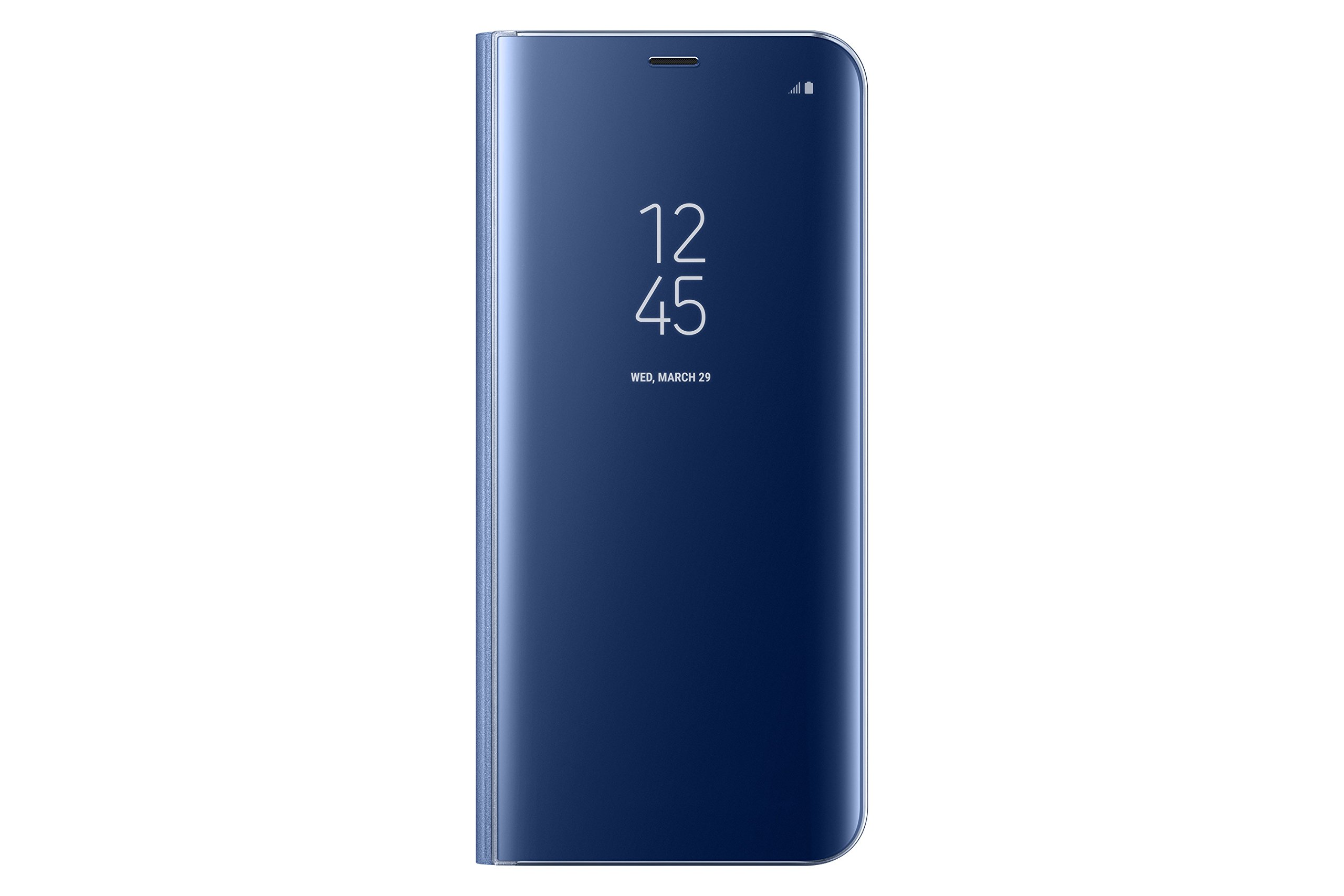 Samsung EF-ZG955CLEGUS  Clear View Standing Cover Flip Case for Galaxy S8+, Blue