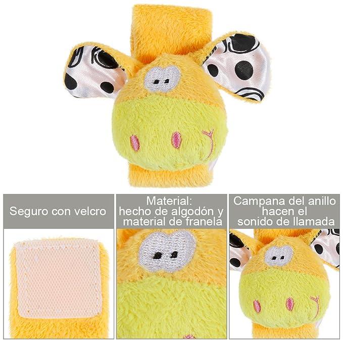 Lictin 3 pcs Muñeca Sonajero Mariposa sonajero Regalos para bebés: Amazon.es: Juguetes y juegos