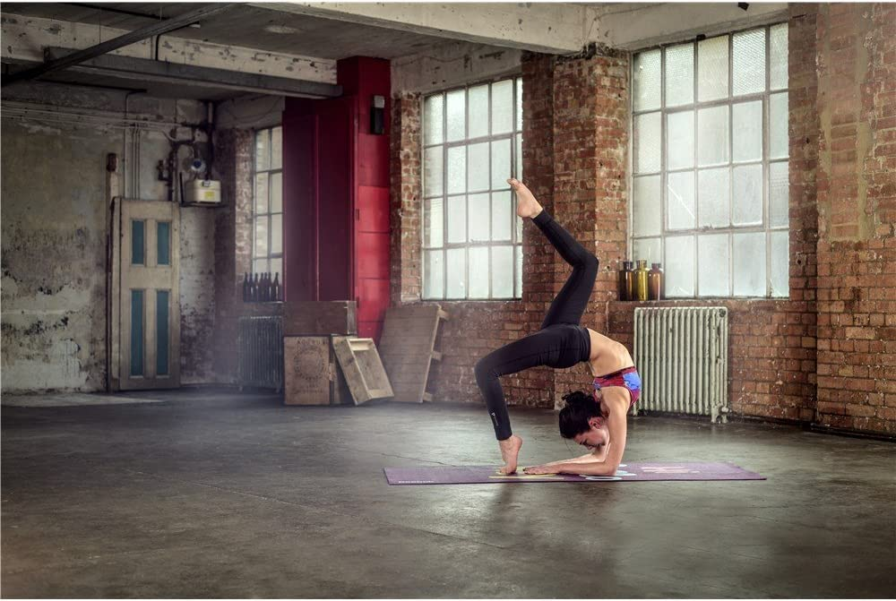 Amazon.com: Reebok Hello Hi Esterilla de yoga de doble cara ...