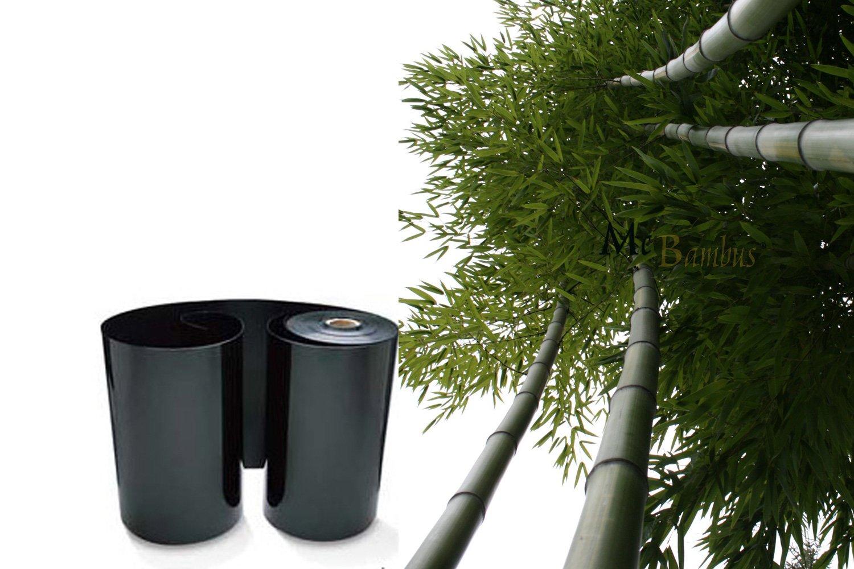 19 Meter Wurzelsperre / Rhizomsperre für Bambuspflanzen. Höhe 70 cm - Stärke 2 mm - von der Marke McBambus