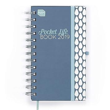 Boxclever Press 2019 Pocket Life Book. Agenda de bolsillo con semana por página, ideal para personas con vidas atareadas. Tamaño bolso. Espacio para ...