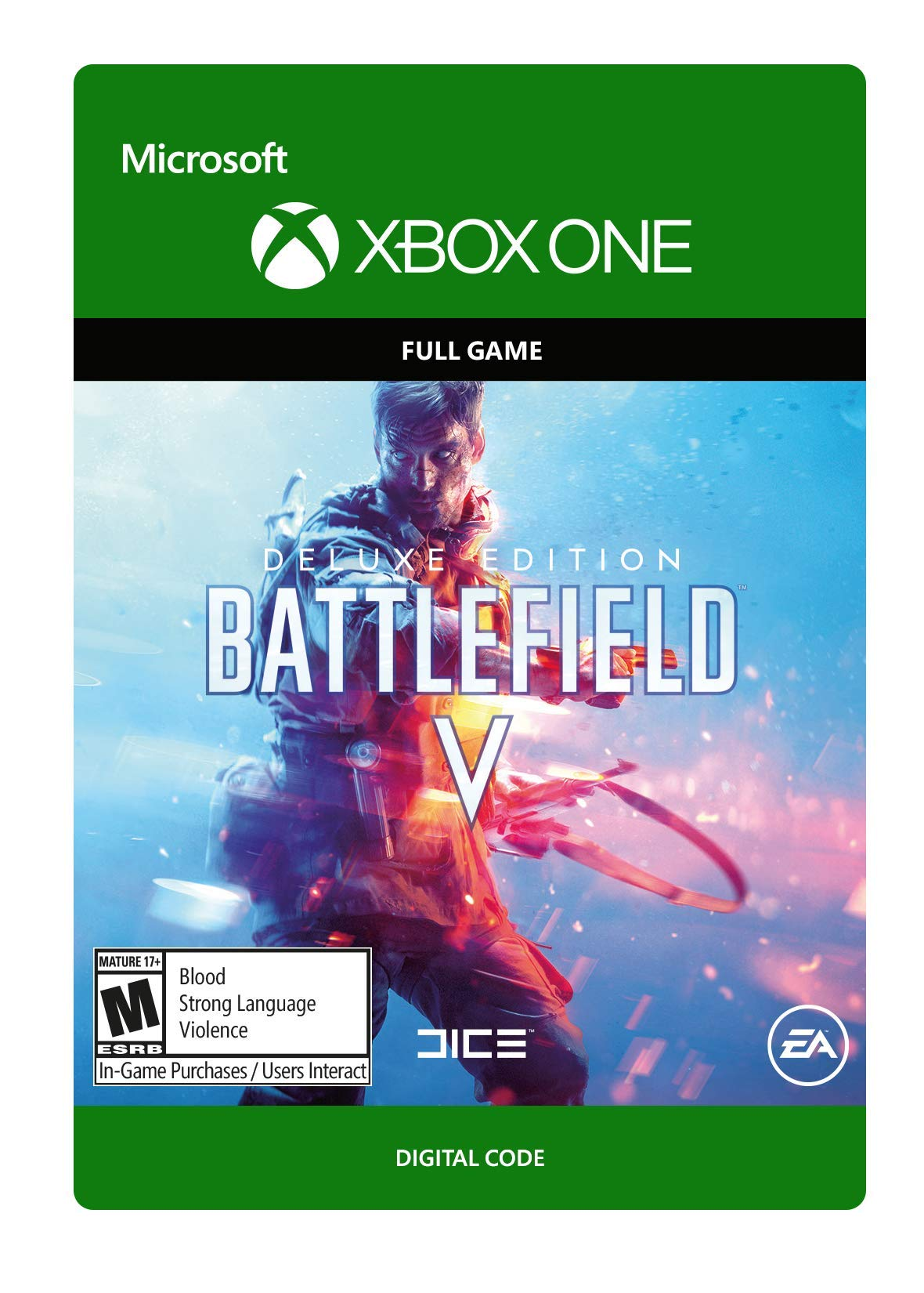 Battlefield V Deluxe Edition -  Xbox One [Digital Code]