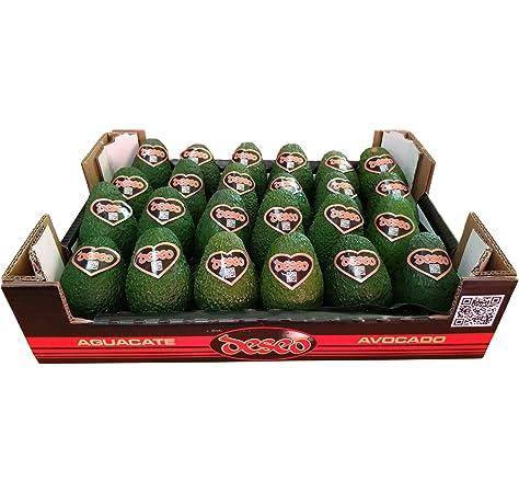 Caja de Aguacates | Aguacate Hass Tradicional | Peso 4 KG | Unidades (Entre 10 y 16 Piezas): Amazon.es: Alimentación y bebidas