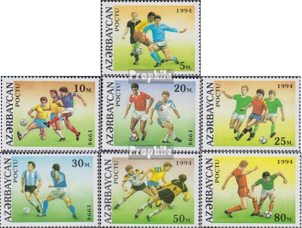 Fu/ßball 1994 Fu/ßball kompl.Ausg. Briefmarken f/ür Sammler Prophila Collection Aserbaidschan 140-146