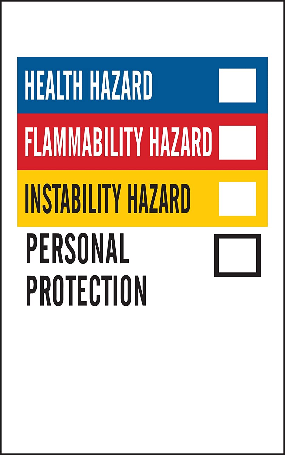 Brady 99179 Blank Write-On Laboratory Labels  (1 Pack of 500 Labels)