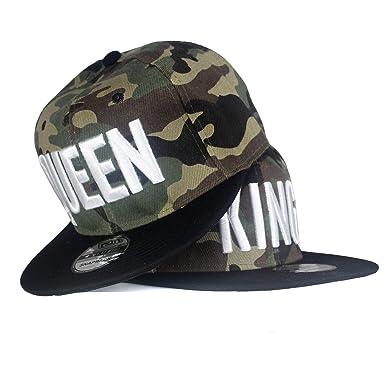 Snapback Gorra Gorro Hip Hop Tapa camuflaje gorra de béisbol ...