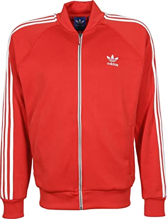 adidas Originals Chaqueta para Hombre SST s19175, Color Red ...