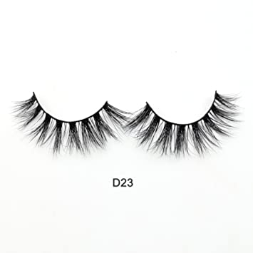 99e4609f169 Amazon.com : Visofree 3D Mink Lashes High Volume Mink Eyelashes Reusable  Dramatic Eyelashes/False Eyelashes (D23) : Beauty