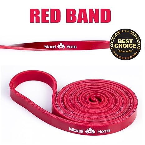 Micrael Home Banda Elástica, Bandas de ejercicios Aparatos de gimnasia Inicio, Fuerza Entrenamiento fitness