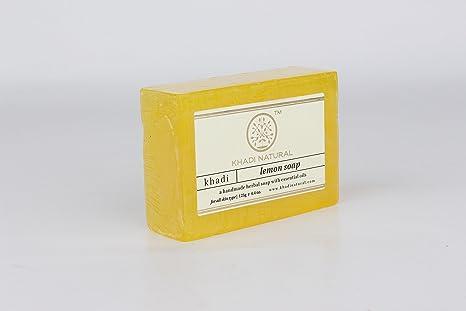 set Of 4 United Khadi Natural Orange Soap Handmade Herbal Bathing Bar Ayuverdic 125gm Bath & Body Bar Soaps