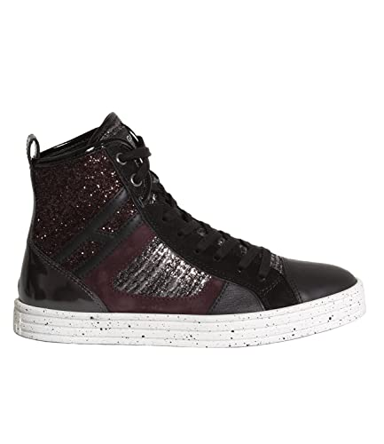 Hogan Rebel Sneakers Alta Donna Sneakers - R141 Mod. HXW1410S650 36 ... 051176e7dad