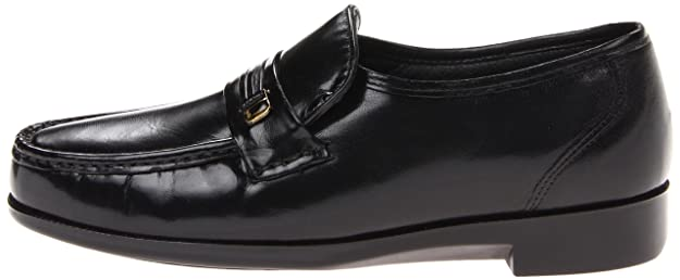 Bostonian - Mocasines para Hombre Negro Black Leather: Amazon.es: Zapatos y complementos