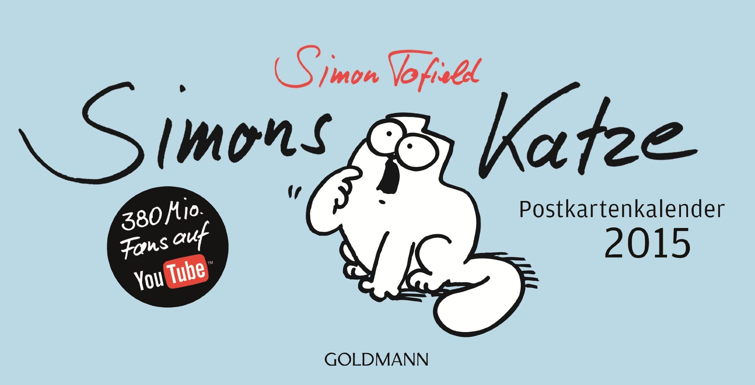 Simons Katze - Postkartenkalender 2015