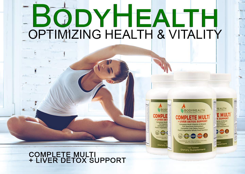 Amazon.com: Apoyo a la Salud completo Multi + Hígado Detox ...