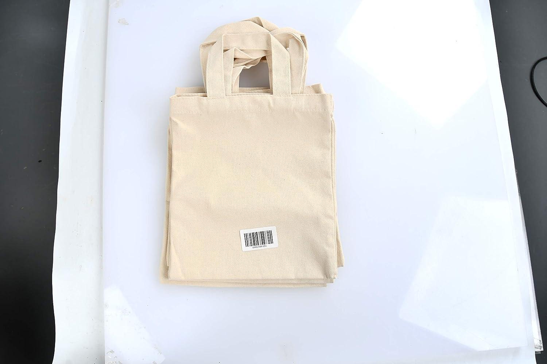 natural, 10 piezas YOTINO 22 x 26 cm bolsa de algod/ón bolsa de yute bolsa de farmacia natural sin imprimir bolsa de transporte bolsa bolsa de regalo bolsa de compras para medicamentos